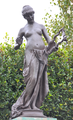 Edward Onslow Ford (1852-1901) - The Muse of Poetry (1891) front, Marlowe Memorial nr Marlowe Theatre, The Friars, Canterbury, UK, October 2012 (8111627288).png