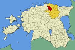 Kadrina Parish within Lääne-Viru County.