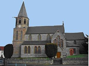Colleret - Image: Eglise de Colleret