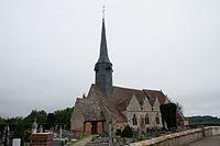 Eglise de Saint Ouen d'Attez, vue générale 1.jpg