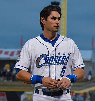 Brett Eibner - Eibner with the Omaha Storm Chasers in 2015