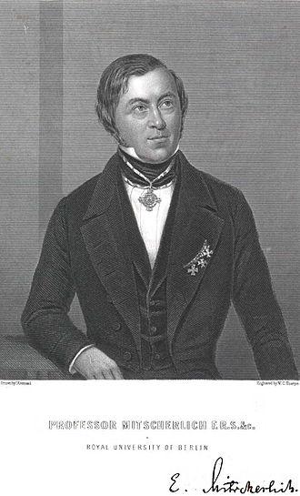 Eilhard Mitscherlich - Eilhard Mitscherlich (1794-1863)