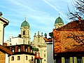 Einsiendeln. Ein Blick auf das Kloster..JPG