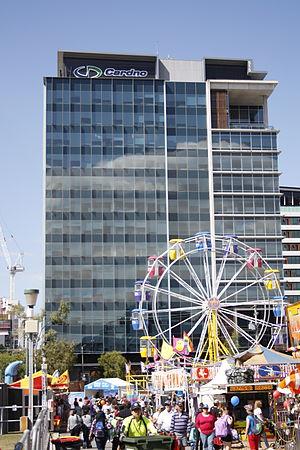 Cardno - Cardno building, Brisbane.
