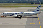 El Al, 4X-EKA, Boeing 737-858 (19663141632).jpg