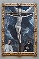 El Greco - Le Christ en croix adoré par deux donateurs 01.jpg