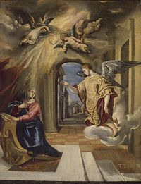 L'Annunciazione di El Greco (1577-1580)