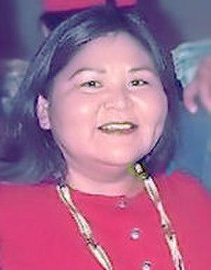 Elaine Miles - Image: Elaine Miles 2001 cropped retouched