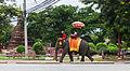 Elefantes, Ayutthaya, Tailandia, 2013-08-23, DD 02.jpg