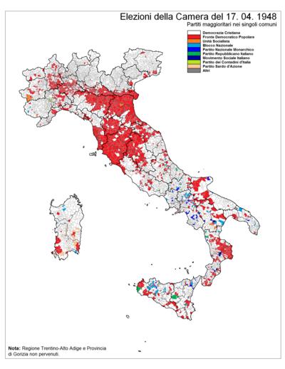 Elezioni Politiche Italiane Del 1948 Wikipedia
