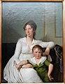Elisabeth Henriette Bruun de Neergard with Her Eldest Son Henrik, by Jens Juel - Ny Carlsberg Glyptotek - Copenhagen - DSC09268.JPG