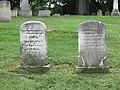 Elisha W. Kent and Charlotte Rooney headstones.jpg