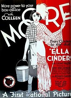 <i>Ella Cinders</i> (film) 1926 film by Alfred E. Green