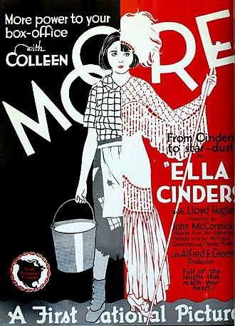 Ella Cinders (film) - Theatrical release poster
