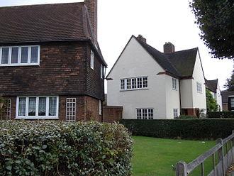Council house - Council houses on the Progress Estate, Eltham, Southeast London