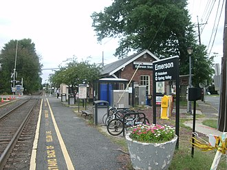 Emerson, New Jersey - NJ Transit station in Emerson
