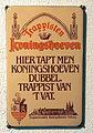 Enamel advertising sign, Koningshoeven trappisten.JPG