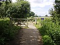 End of cycle track - geograph.org.uk - 469788.jpg