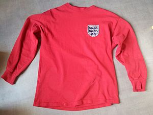 England national football team - England shirt during 1966 World Cup final.