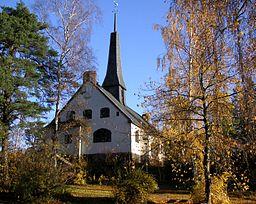 Enskede kirke i oktober 2007