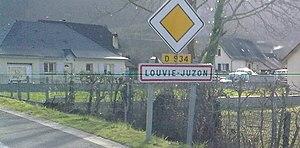 Louvie-Juzon - Entrance