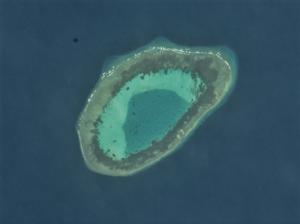 Erica Reef - Satellite image of Erica Reef by NASA.
