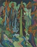 Ernst Ludwig Kirchner - Wettertannen - 14526 - Bavarian State Painting Collections.jpg