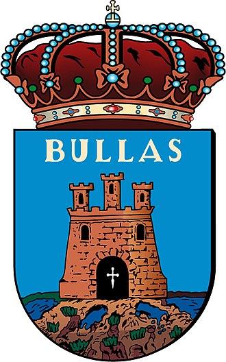 Bullas - Image: Escudo.bullas