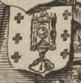 Escudo da Galiza em Totius Regnorum Hispaniae et Portugalliae de Frederick de Wit (c. 1670-1707).jpg