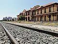 Estación de pasajeros y vía, Museo Ferrocarrilero de Aguascalientes.jpg