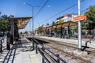 Fátima (Buenos Aires Premetro) - Image: Estacion fatima renovada