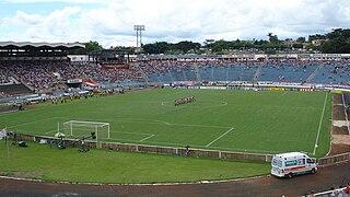 Estádio Santa Cruz soccer stadium in Brazil