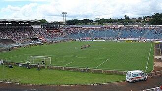Botafogo Futebol Clube (SP) - Estádio Santa Cruz, owned by Botafogo de Ribeirão Preto, a major stadium of Brazil