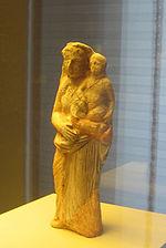 Deidad femenina de El Tesorillo, Museo de Cádiz