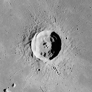 Euler (crater) impact crater