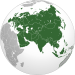 Eurasia (orthographic projection).svg