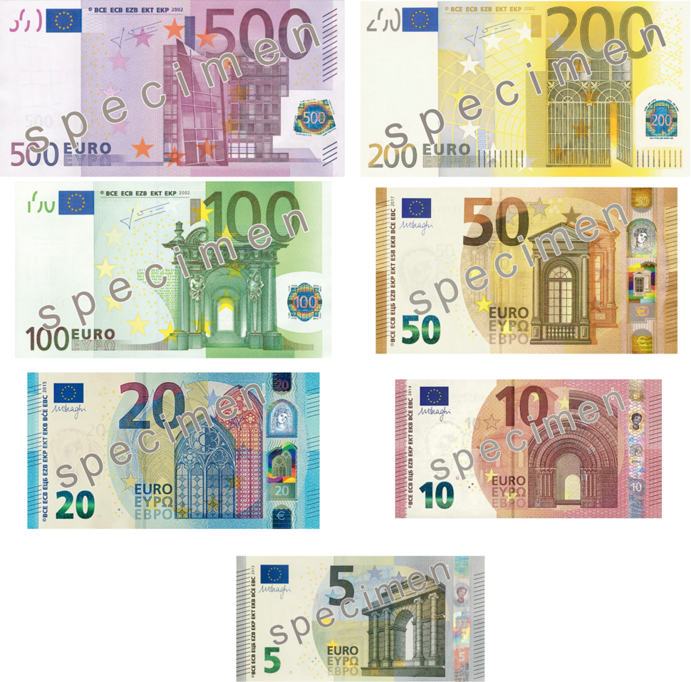 Euro Series Banknotes