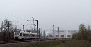 Hellweg Net - Workshop in Hamm-Heesen and Stadler Flirt of the Eurobahn