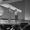 Eurovision Song Contest 1976 rehearsals - Austria - Waterloo & Robinson 1.png