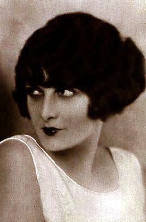 Evelyn Brent - Mid-1920s promotional image issued by Film Booking Offices, later acquired by RKO