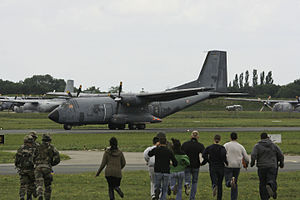Orléans – Bricy Air Base - Demo with C-160 during the airshow on the base in June 2010