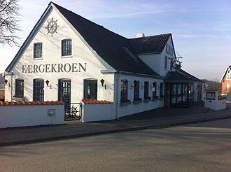Hadsund Syd - Image: Færgekroen (Sønder Hadsund)