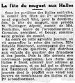 Fête du muguet aux Halles en mai 1930.jpg