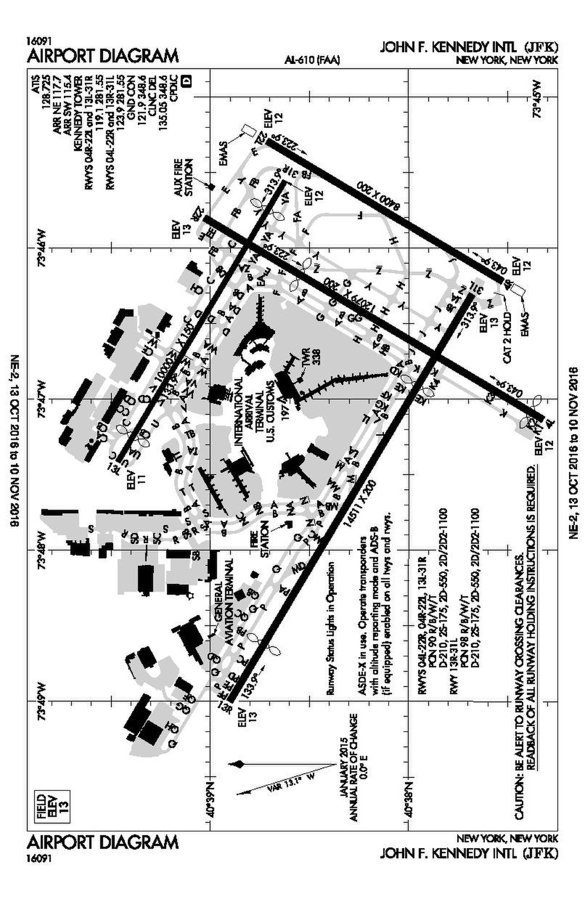 File Faa Jfk Airport Map 2016 Pdf