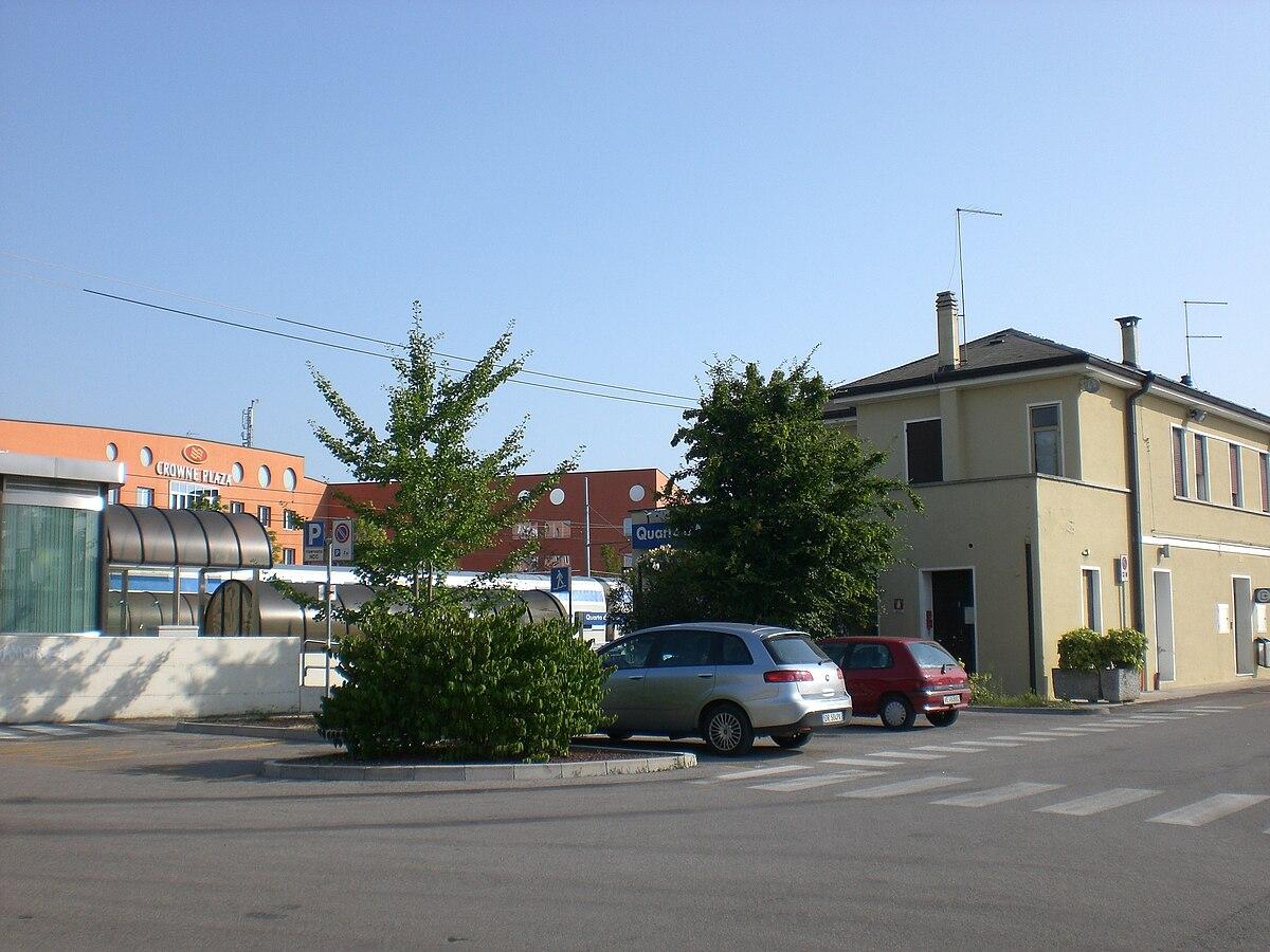 stazione di quarto d 39 altino wikipedia