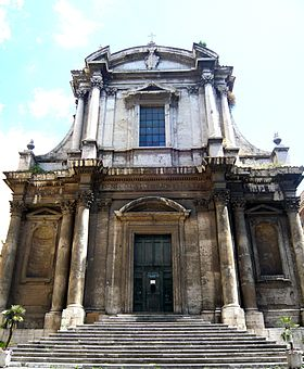 Image illustrative de l'article Église Saint-Nicolas de Tolentino (Rome)