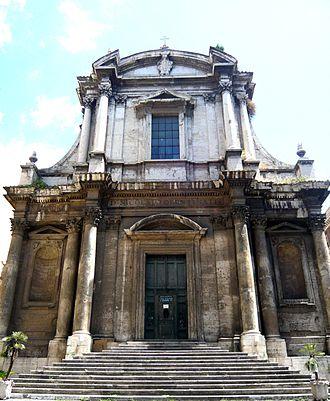 San Nicola da Tolentino agli Orti Sallustiani - Facade of San Nicola da Tolentino