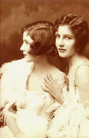Madeline and Marion Fairbanks - The Fairbanks twins, Madeline and Marion Fairbanks