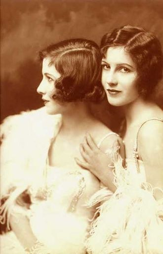 Madeline and Marion Fairbanks - The Fairbanks twins, Madeline and Marion Fairbanks