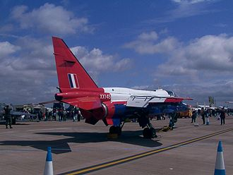 RAE Bedford - The Jaguar was tested at RAE Bedford during the 1970s.